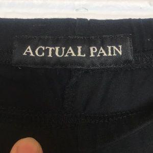 actual pain Pants - Actual Pain leggings baphomet pentagram M/L.